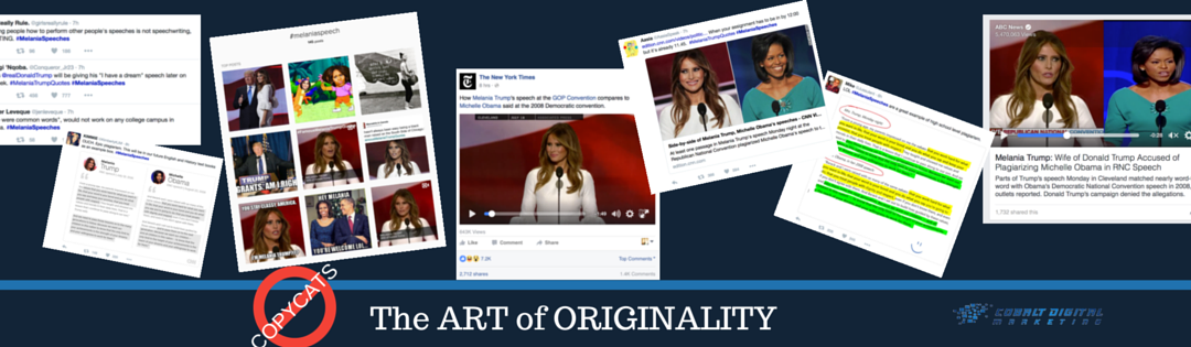 No Copycats. The Art of Originality
